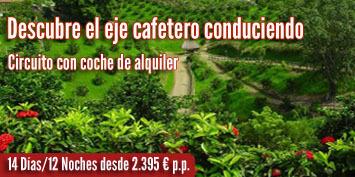 Viajes a Colombia | Eje cafetero con coche
