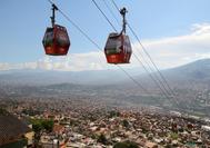 Vista de Medellín desde el Metrocable