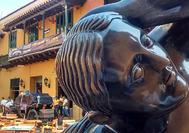 La Gorda Gertrudis de Botero en Cartagena