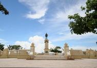 Estatua del Libertador Simón Bolívar en la ciudad de Santa Marta