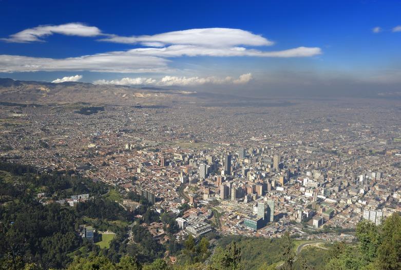 Viajes a Colombia| Paisaje de Bogotá