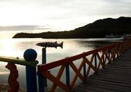 El Puente de los Enamorados, entre Providencia y Santa Catalina