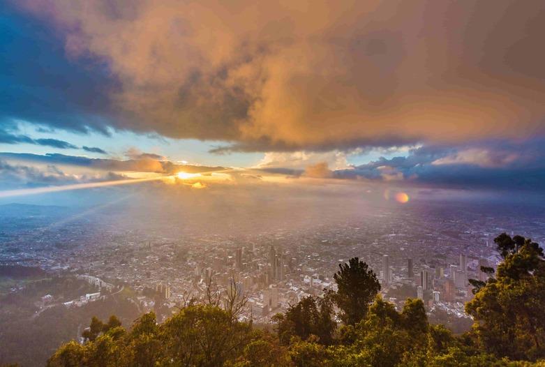 Viajes a Colombia | Atardecer en Bogotá
