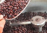 Molino de café cultivado en el Eje Cafetero de Colombia