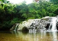 Piscina natural en el interior del Parque Nacional de Tayrona