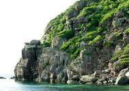 Acantilado rocoso en Providencia