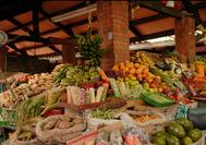 Fruta en el mercado de Bogota