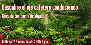 Viajes a Colombia | Eje cafetero con coche 2017